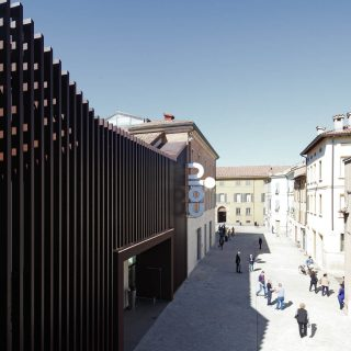 Restauro del mercato coperto, Reggio Emilia