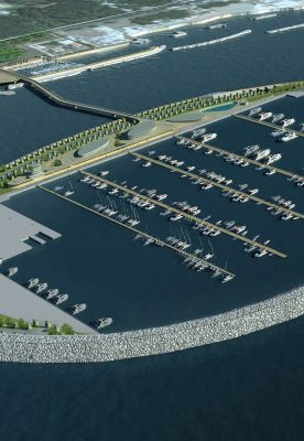 Riqualificazione del litorale marittimo e nuovo porto turistico