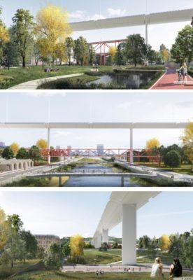 Il parco nel ponte – rigenerazione del quadrante Polcevera
