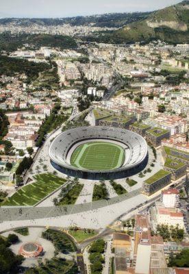 Arena a Ponticelli e restauro dello stadio San Paolo